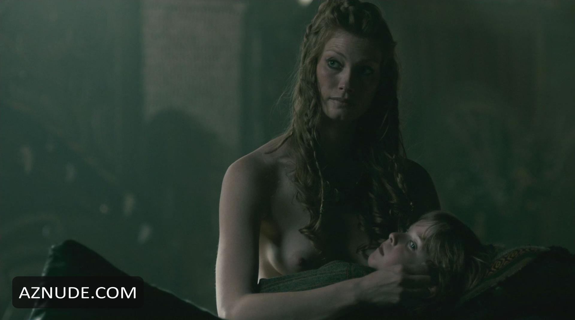 Alyssa sutherland nude vikings s01e09 2013