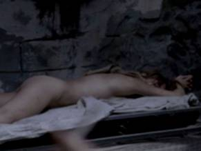 The girl next door spank scene