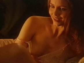 saffron burrows boobs naked