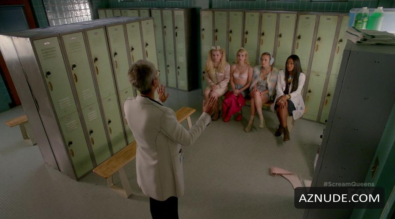 Emma roberts scream queens s02e01 10