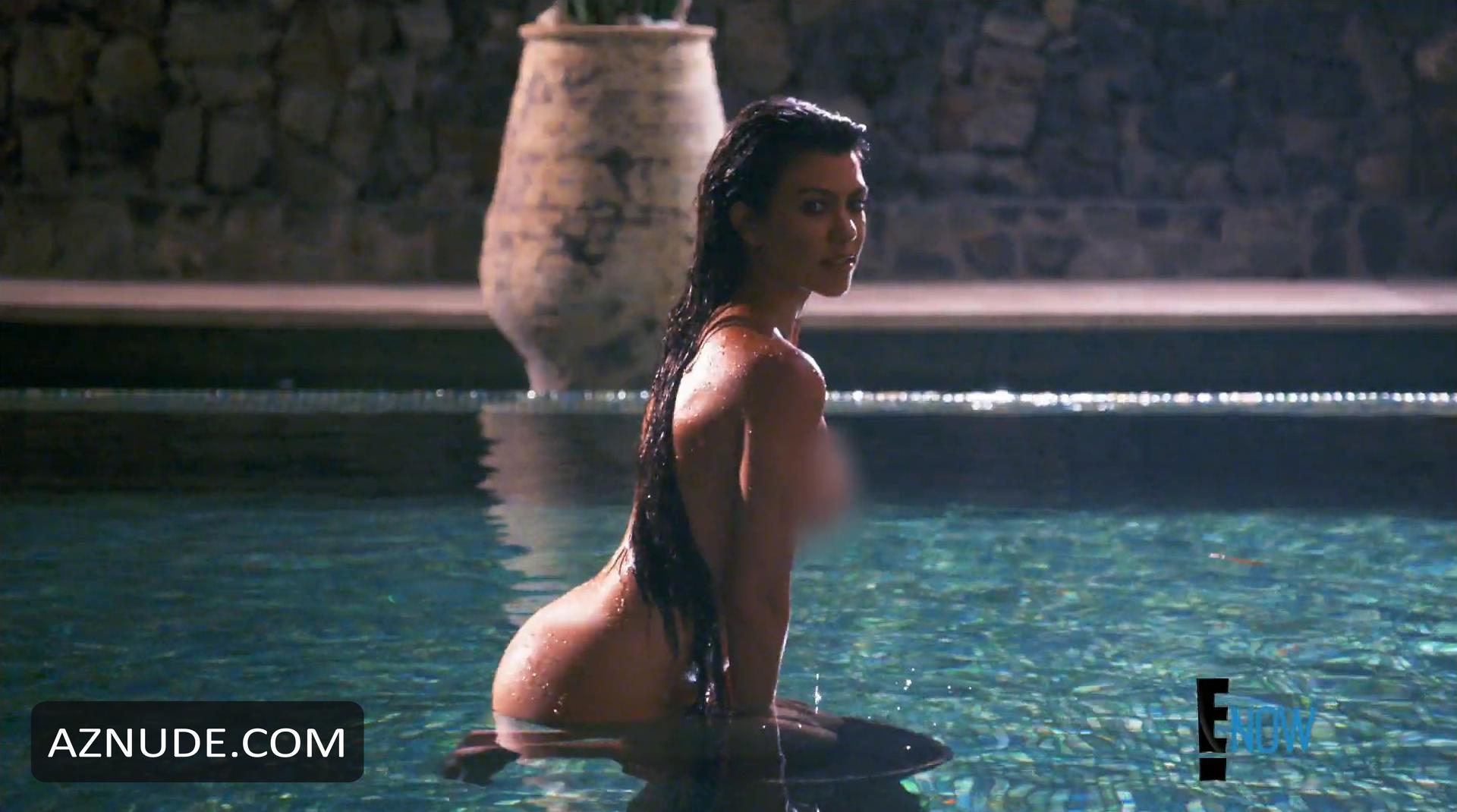 nude Sexy kourtney kardashian