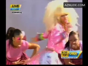NICKI MINAJ in GOOD MORNING AMERICA(2011)