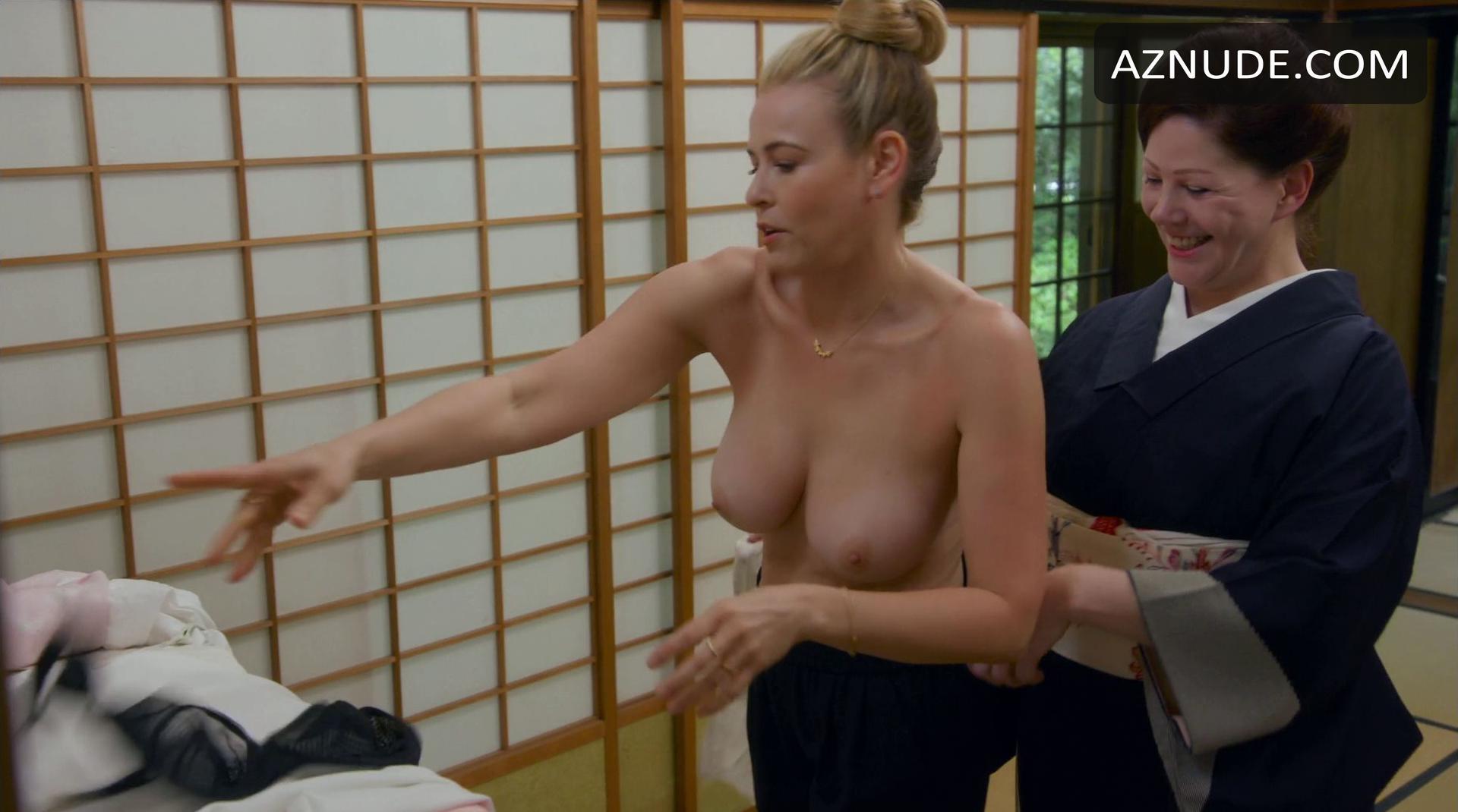 Chelsea Handler  nackt