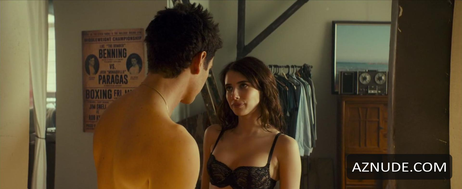 Emma roberts sexy lingerie scene from little italy new pictures