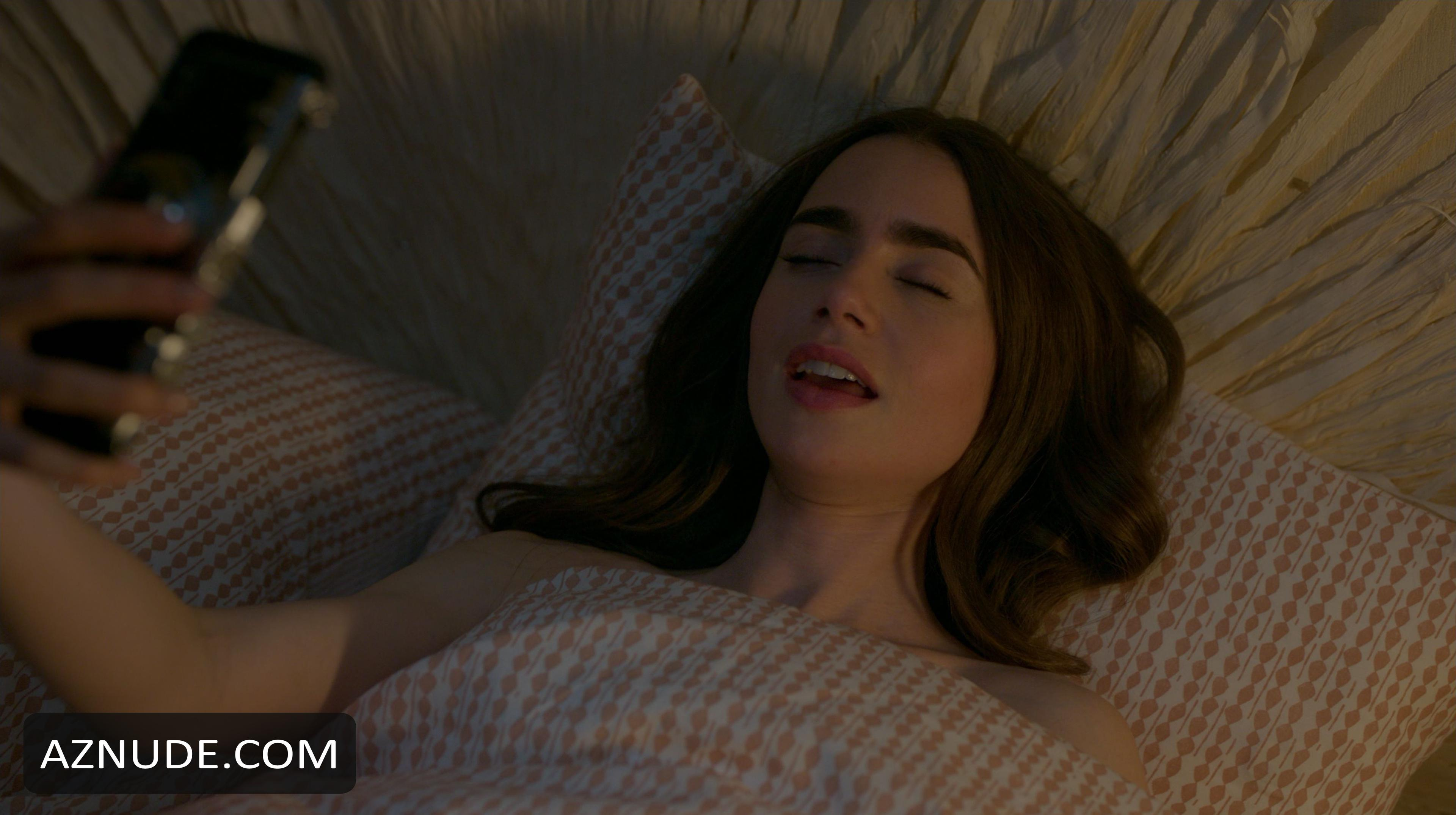 Lily Collins Naked