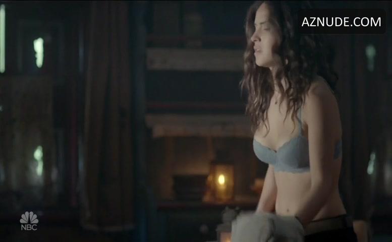 Adria Arjona Underwear Scene In Emerald City - Aznude