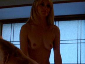 Nude girl dominating guy