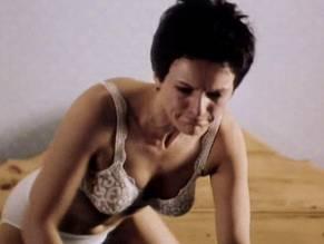 Girl bent over masturbating