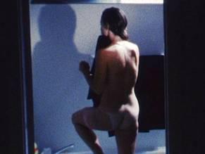 Naked girl with vaseline