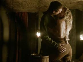 Vikings tv show nude scene