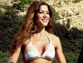 Bathing Bikini Clothes Her Off Suit Taking Underwear