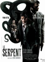 Le serpent sex scene, nude african man and woman