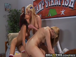 KATIE SUMMERS NUDE/SEXY SCENE IN SHARING IS CARING AT CAMP STARFISH