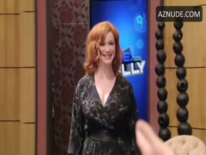 CHRISTINA HENDRICKS in LIVE! WITH KELLY(2012)