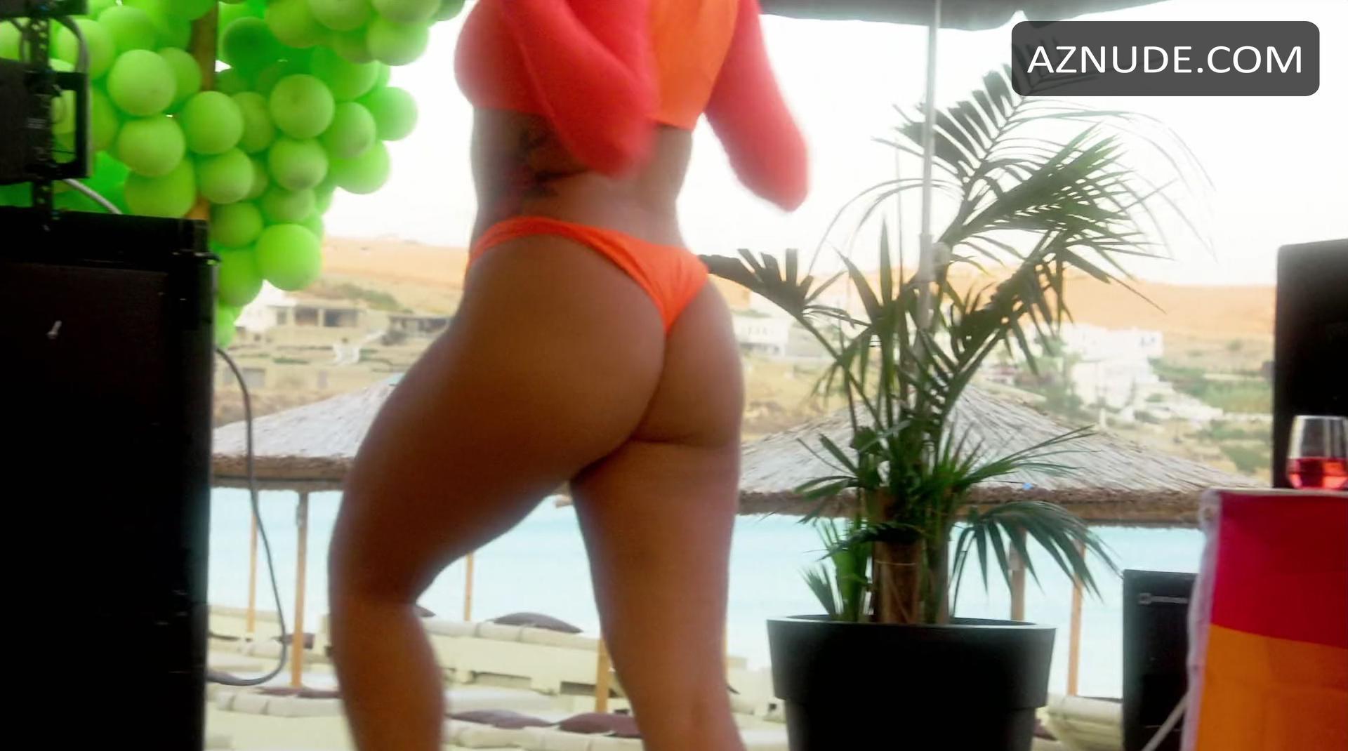 Lindsay Lohans Beach Club Nude Scenes - Aznude-9601
