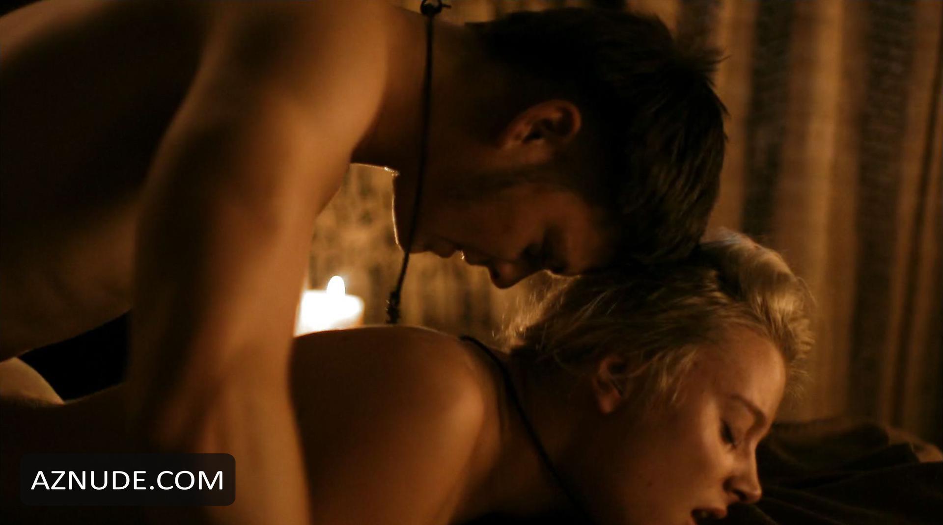 image Dagny backer nude sex scene vikings on scandalplanetcom
