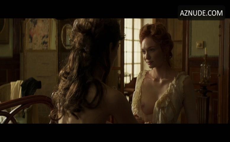 Keira Knightley Lesbian, Breasts Scene In Colette - Aznude-7311