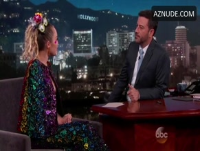 MILEY CYRUS in JIMMY KIMMEL LIVE(2014-2015)