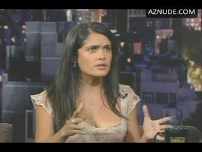 SALMA HAYEK in LATE SHOW WITH DAVID LETTERMAN(2009-2015)
