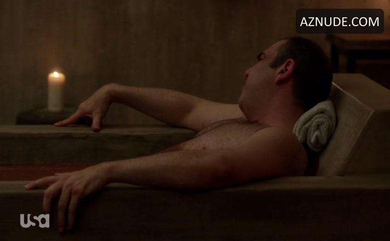 Sarah Rafferty Sexy Scene In Suits Aznude