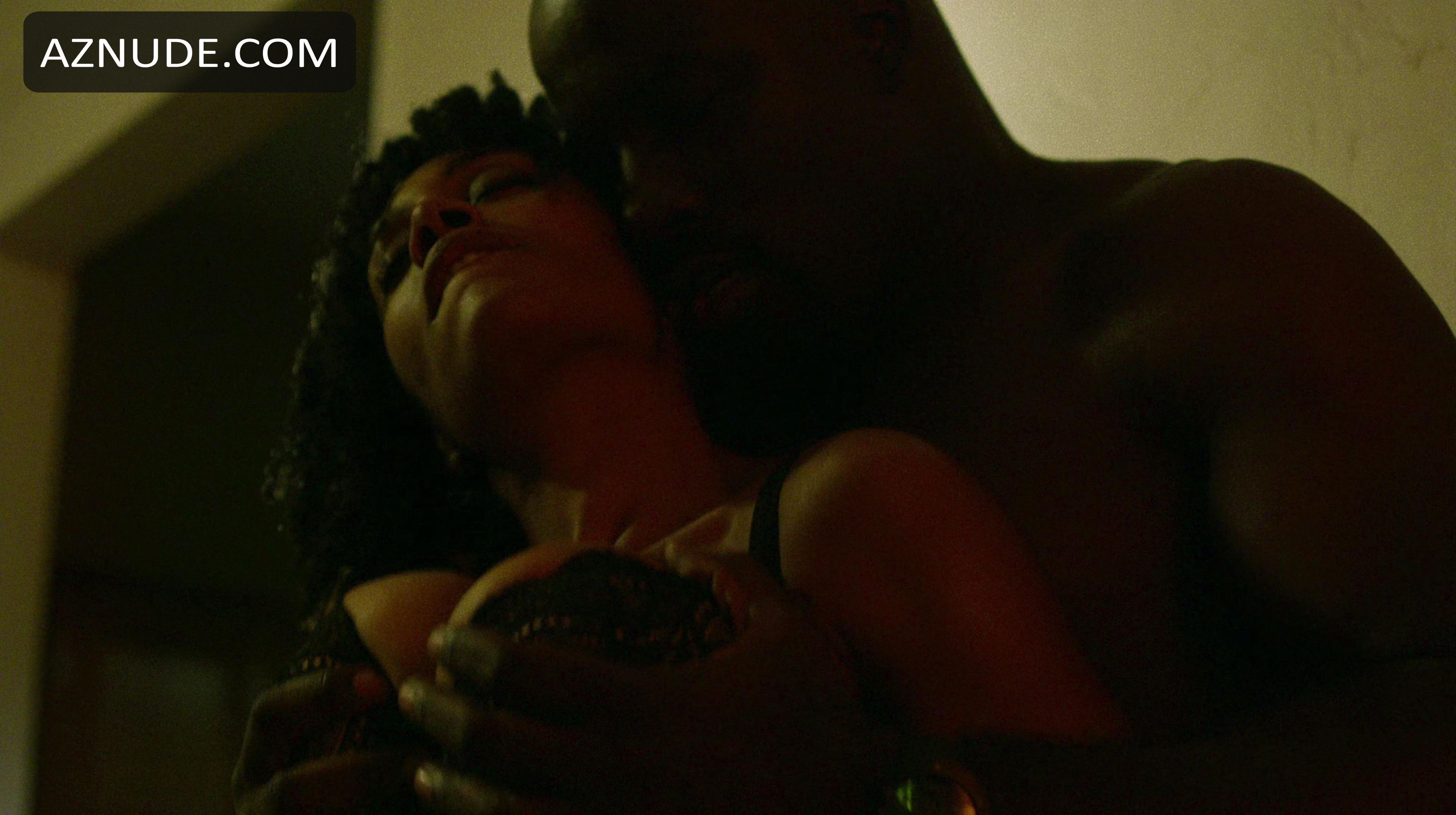 Simone missick sexy scene in marvel luke cage aznude