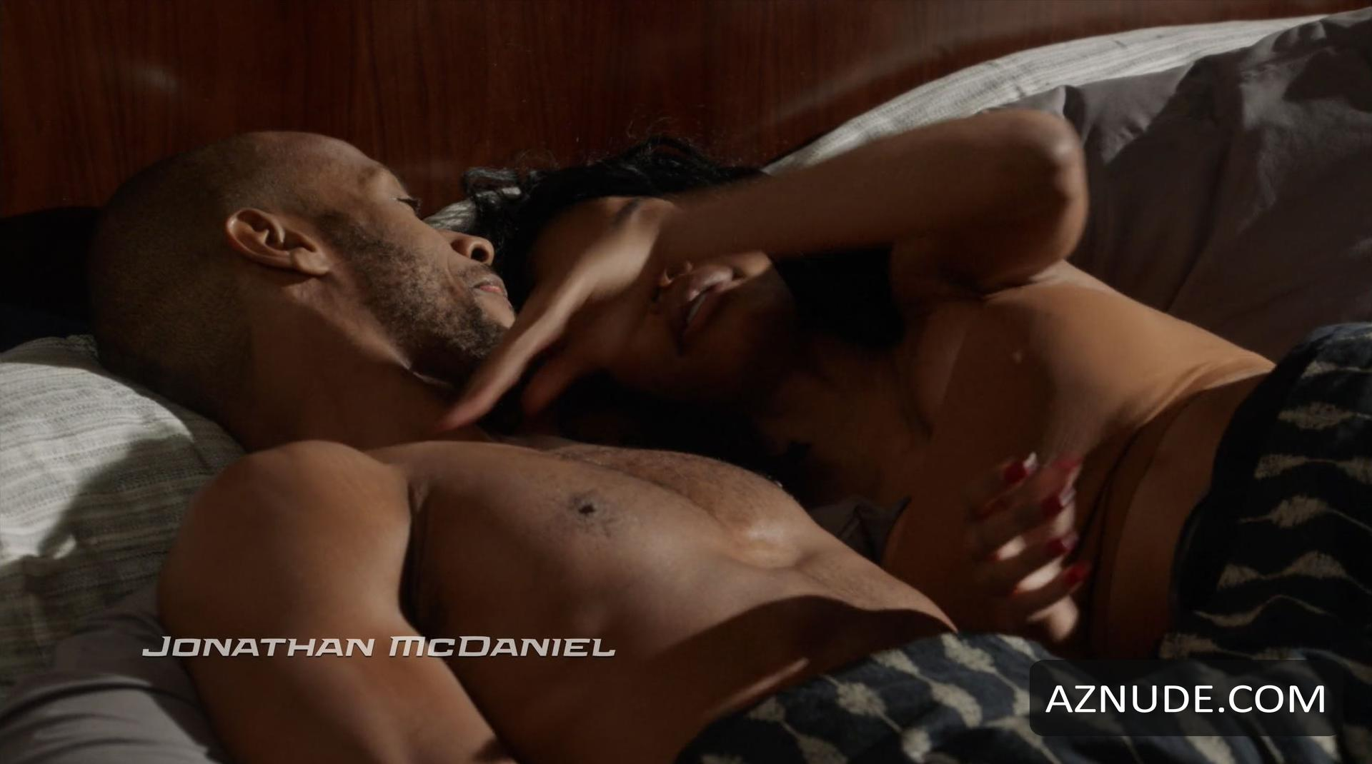 Katherine bailess taylour paige nude in hit the floor pilot photo clip